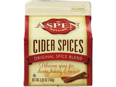 Aspen Mulling Spices 5.65 Oz Milk Carton Box