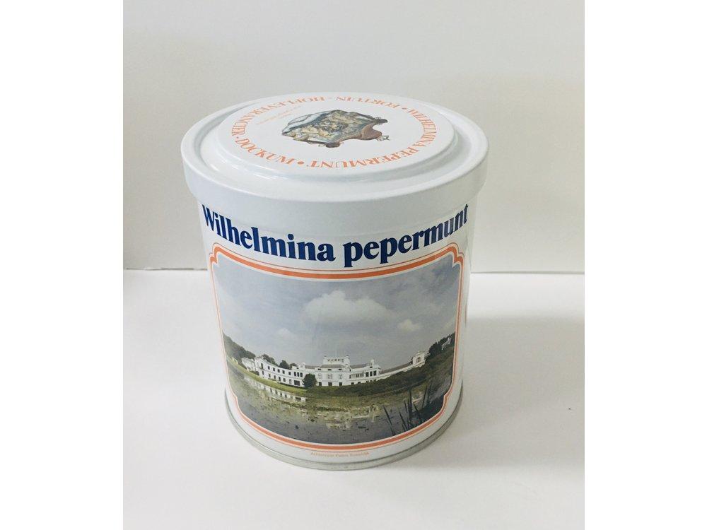 Wilhelmina Wilhelmina Soestdijk Palace Tin 17.5 oz