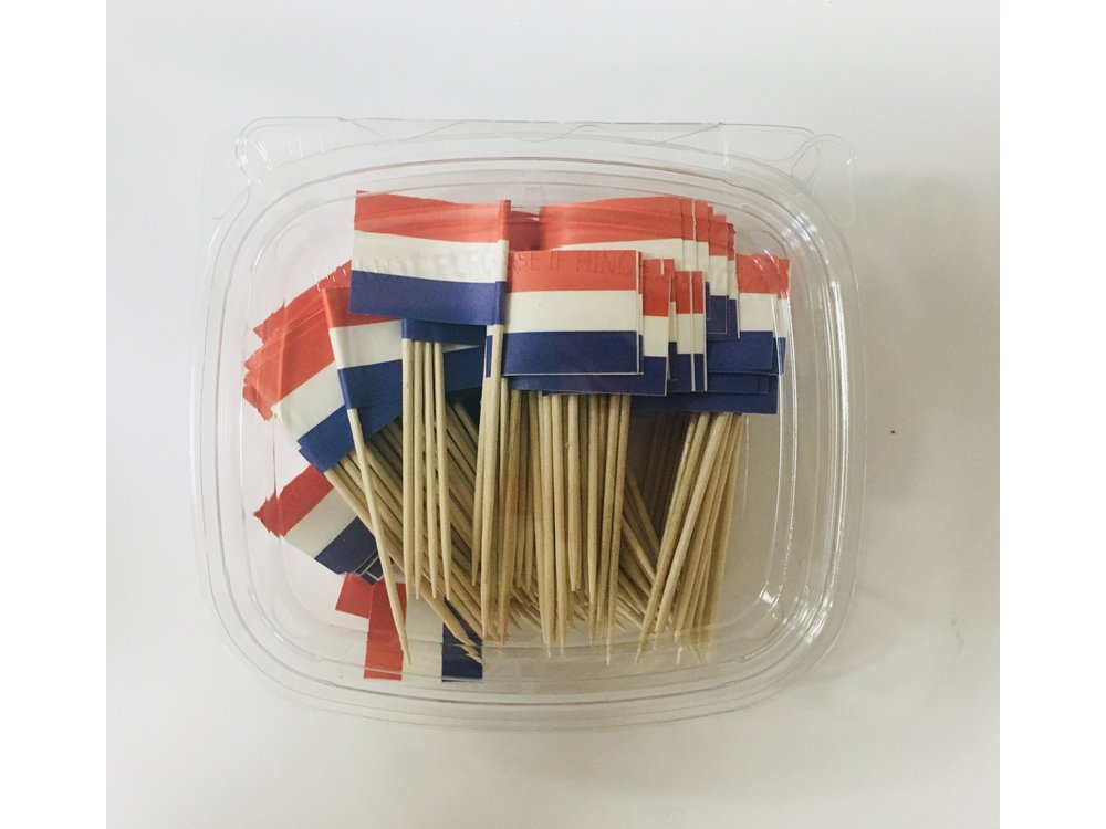 Peters Dutch Flag Toothpicks 100 ct