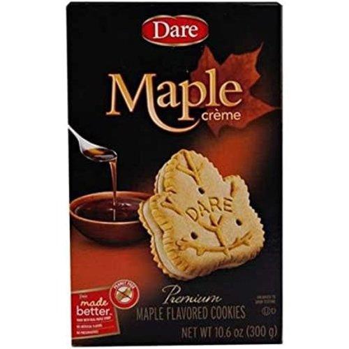 Dare Maple Leaf Creme Cookie 10 oz box