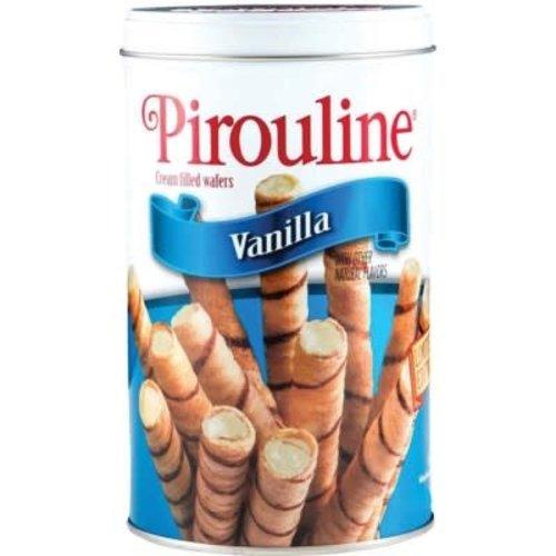 De Beukelaar Debeuk Vanilla Pirouline 14oz Tin