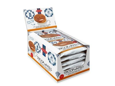 Daelmans Daelmans 2 Pack Jumbo Syrupwafer box of 12 2 packs (2.75 oz ea)