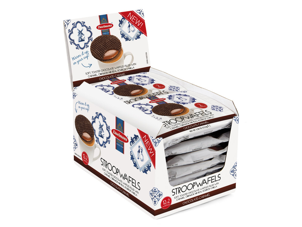Daelmans Daelmans Chocolate Caramel Wafer box of 12 2 packs