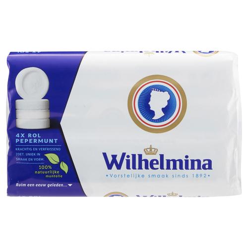 Wilhelmina Wilhelmina Peppermint Rolls 4 Roll Pack
