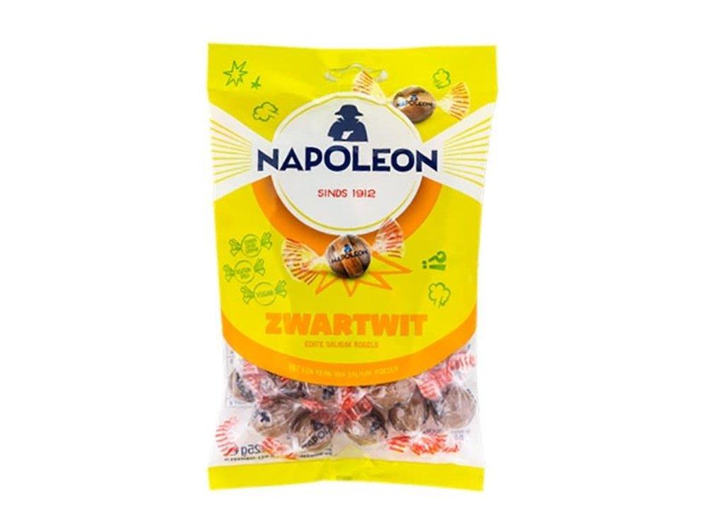 Napoleon Napoleon Black & White Licorice Balls 5.2 oz bag