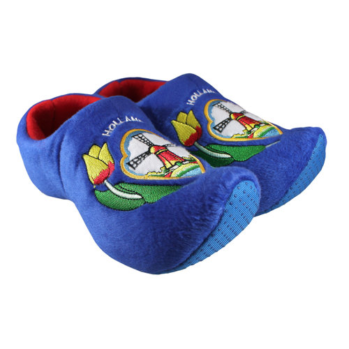 Nelis Imports Blue Slipper Shoe Infant 10-13 (19 cm)