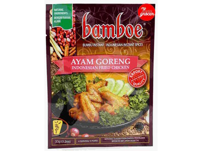 Bamboe Bamboe Ayam Goreng Spices For Fried Chicken 1.2oz