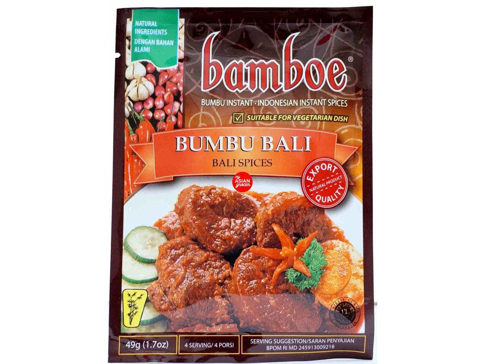 Bamboe Bamboe Bumbu Bali Spices for Balinese Sauce 1.7 oz