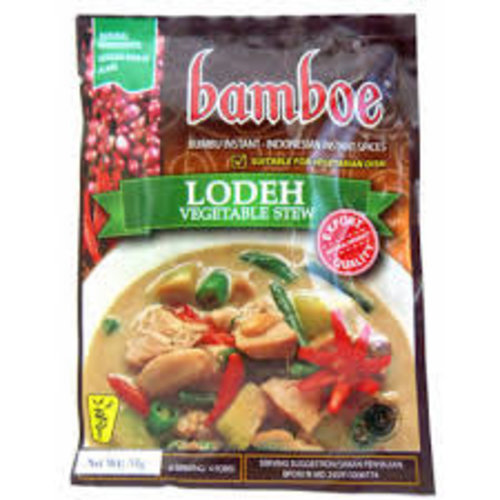 Bamboe Bamboe Lodeh Spices for Vegetable Stew 1.9 oz