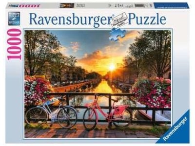 Games Ravensburger Bicycles in Amsterdam 1000 pc