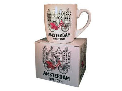 Amsterdam Mug Bike Town Gift boxed