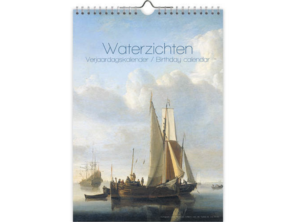 Birthday Calendar Water Views