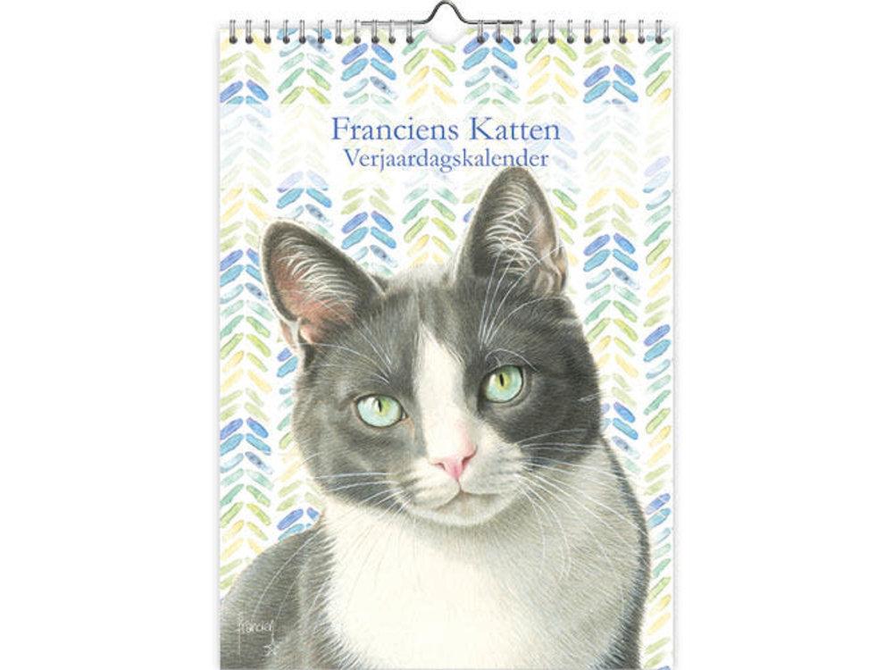 Birthday Calendar Franciens Cats