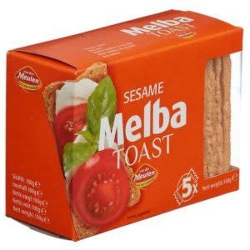 Vander Meulen Vander Meulen Melba Toast Sesame 3.5 Oz