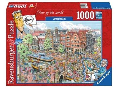 Games Puzzle Amsterdam - Fleroux 1000 Pcs 27x20 inches