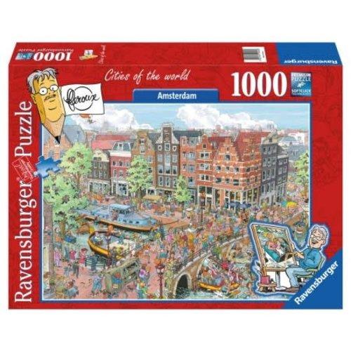 Games Puzzle Amsterdam - Fleroux 1000 Pcs