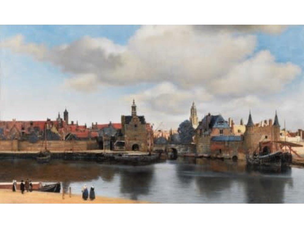 Games Puzzle Facing Delft Johannes Vermeer 1000 Pcs