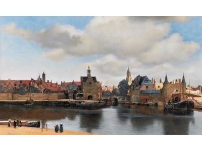 Games Puzzle Facing Delft Johannes Vermeer 1000 Pcs