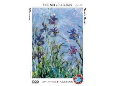 Games Puzzle Irises - Claude Monet 1000Pcs