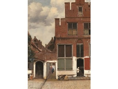 Games Puzzle Streetview by Johannes Vermeer 1000 Pcs