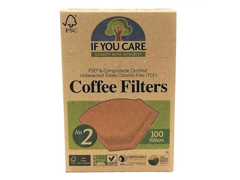 If You Care All Natural Coffee Filter No 2 100 ct