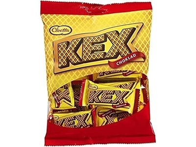 Cloetta Cloetta Kex Mini Chocolate Covered Wafer Bars 5.5 oz