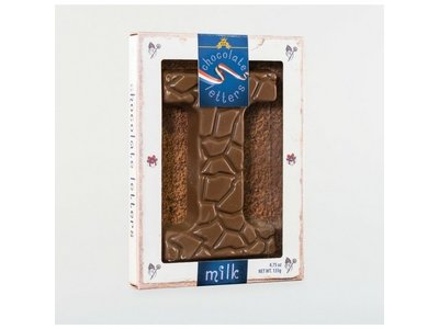 Droste Large I Milk Chocolate Letter
