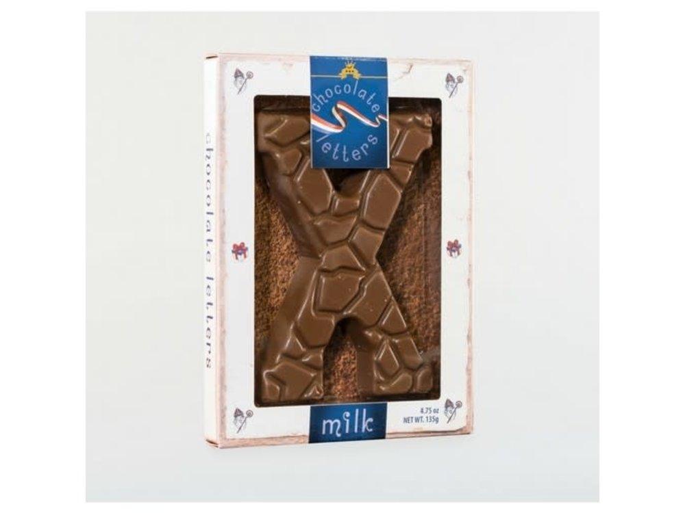 Droste Large X Milk Chocolate Letter