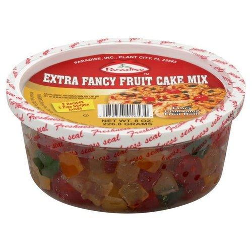 Paradise Fruit Paradise Fruit Cake Mix Extra Fancy 8 oz tub