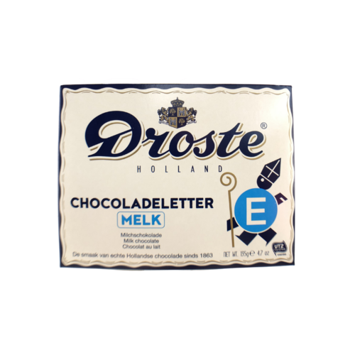 Droste Droste Large E Milk Chocolate Letter