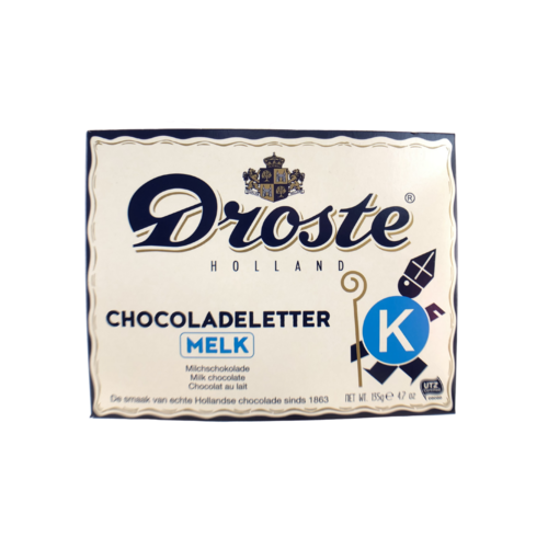 Droste Droste Large K Milk Chocolate Letter