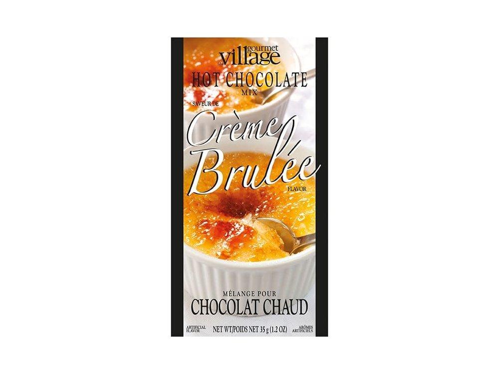 GDV Creme Brulee Hot Chocolate 4 pack