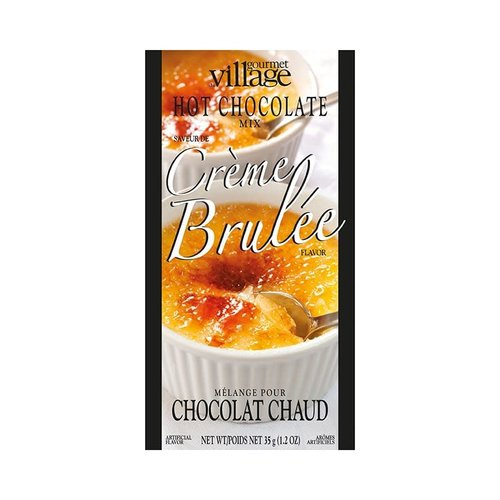 GDV Creme Brulee Hot Chocolate 4 pack