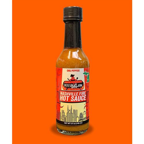 Pete's Big Jerk Pete's Big Jerk Nashville Fire Hot Sauce 5 oz