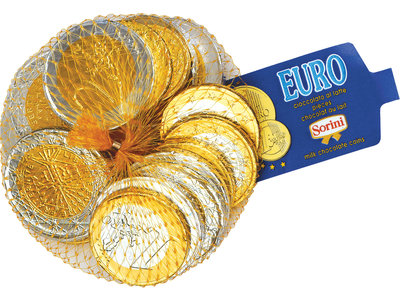 Sorini Sorini Chocolate Euro Coins NOT AVAIL 2020