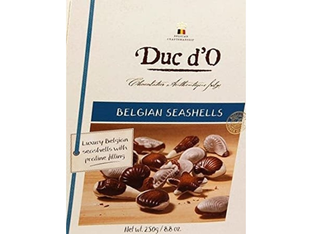 Duc d'O Duc d'O Belgian Seashells With Praline Filling 8.8 oz