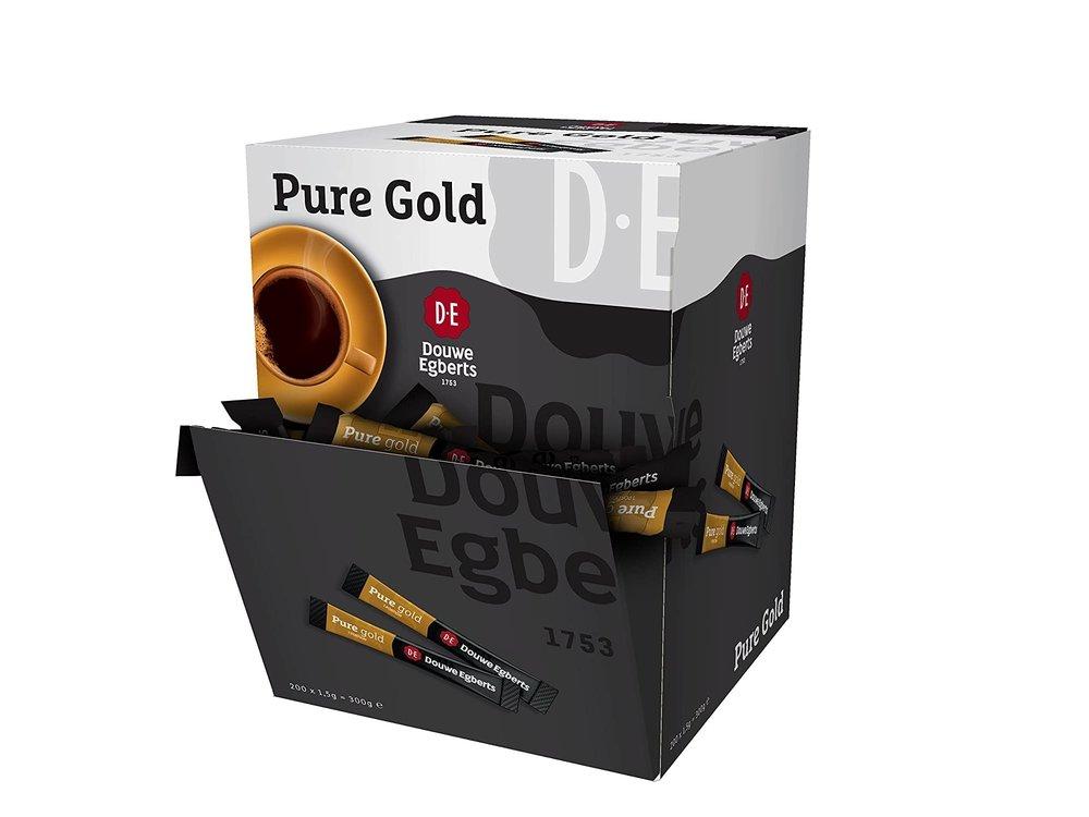 Douwe Egberts Douwe Egberts Pure Gold Instant coffee sticks 200 count