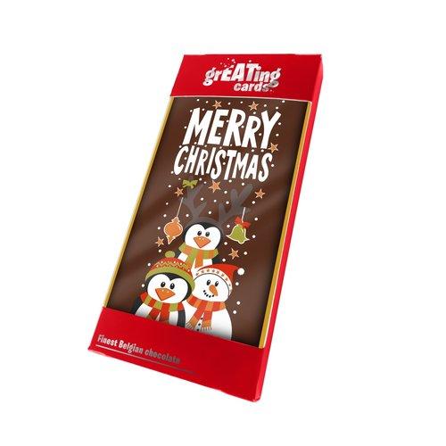 Lagosse Merry Christmas Choc Bar 3.5 oz