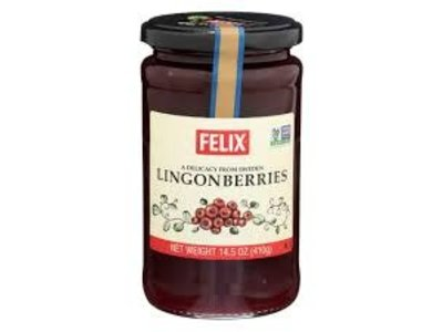 Felix Lingonberry Preserves 14 oz