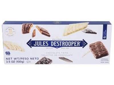 Destrooper Destrooper Assorted Chocolate Thins 3.5 Oz box