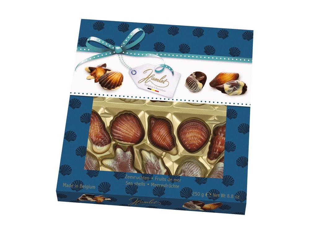 Governor Governors (Hamlet) Chocolate Seashells 8.8 oz