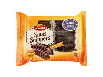 Lonka Lonka Orange Chocolate Covered Sticks 5.3 oz