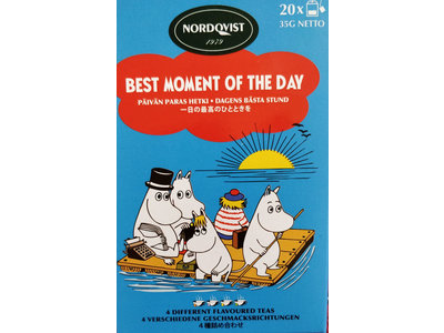 Nordqvist Best of Moment of Day 4 Assorted Flavor Black Teas 20ct