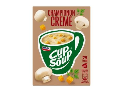 Unox Unox Instant Mushroom Cream cup a Soup
