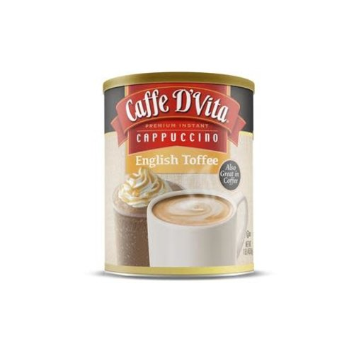 Caffe D Vita Cappucino English Toffee 16 oz