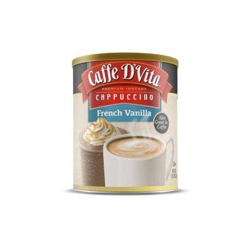 Caffe D Vita Cappucino French Vanilla 16 oz