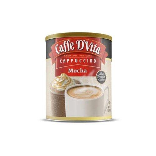 Caffe D Vita Cappucino Intstant Mocha 16 oz