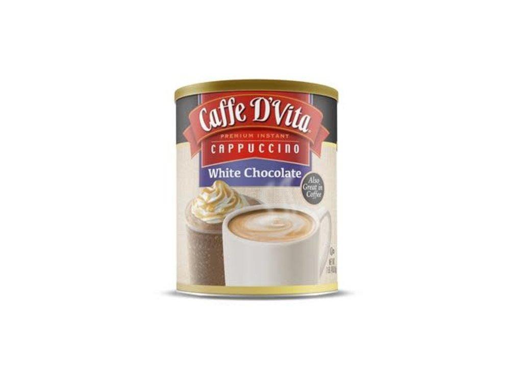 Caffe D Vita White Chocolate Cappucino 16 oz