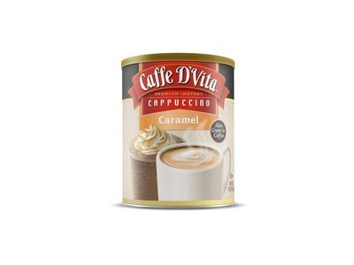 Caffe D Vita Cappucino Caramel 16 oz