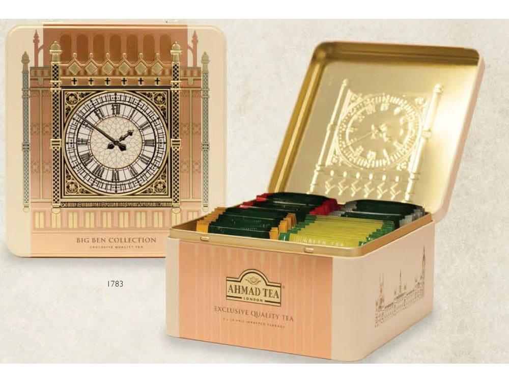 Ahmad Tea Big Ben Collection Tin 40ct